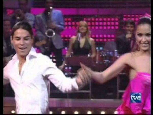 Mira quién baila ChaChaCha Julio Iglesias Jr