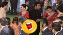 Aishwarya Rai Bachchan LOL Moment with Akash Ambani and Anant Ambani Isha Ambani Wedding