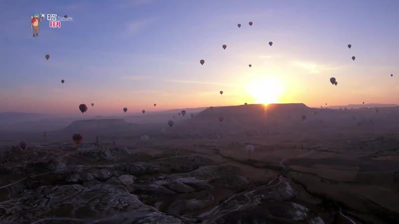 【K】Turkey Travel-Goreme_Cappadocia_Kapadokya_Hot air Balloon_Rock_Bizarre stones