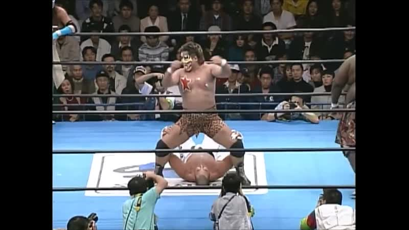 1997.11.15 - Hayabusa/Jinsei Shinzaki vs. Giant Kimala/Jun Izumida