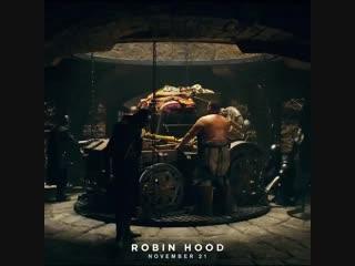 The heist begins in one month. Robin Hood Movie