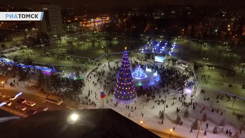 Главная новогодняя елка в Томске