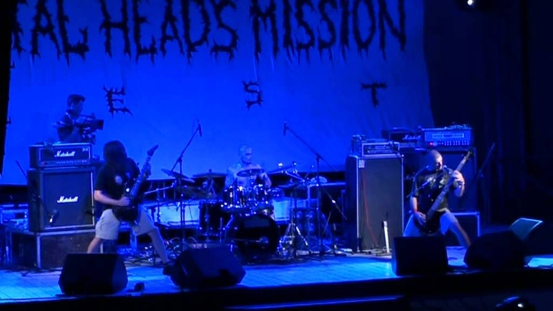 DATURA live on Metal Heads Mission Fest 2012 02/08/2012 Evpatoria UA