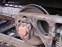 Осмотр технического состояния грузовых вагонов на ПТО в парке прибытия