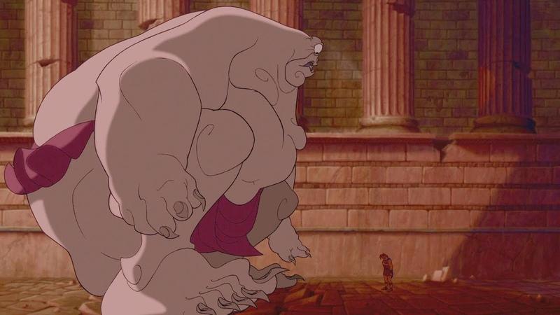 Геркулес против циклопа - Геркулес отрывок из фильма