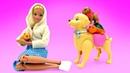 Куклы Барби и домашние питомцы. Видео для девочек