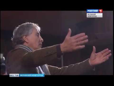 ГТРК СЛАВИЯ Прогон спектакля Девять белых хризантем 12 10 18