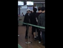 FANCAM 21 09 18 Byeongkwan @ Incheon Airport departure to Taiwan