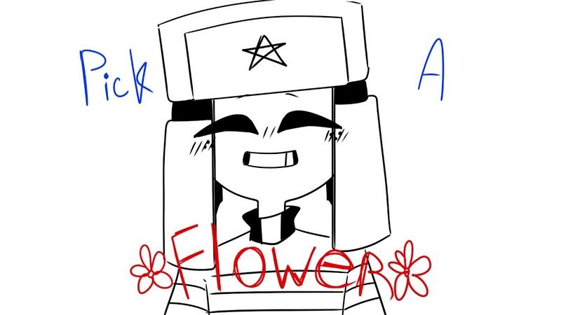Pick a flower meme (countryhumans)