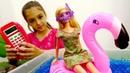 Мультики для девочек - Барби собирается на море - Видео про кукол