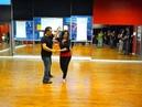 Bachata Intermediate Partner Combinations Salsa'n seattle Victor Julia