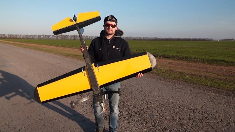 Самодельный самолет начало постройки 20 лет назад полетит ли