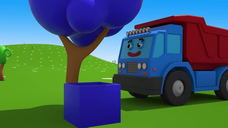 Детская Площадка с Машинками Развивающий Мультфильм для Детей