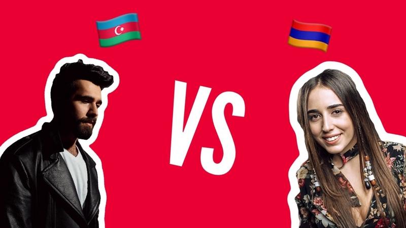 Рекция на Chingiz Truth и Srbuk Walking Out Azerbaijan 🇦🇿 vs Armenia 🇦🇲 Eurovision 2019