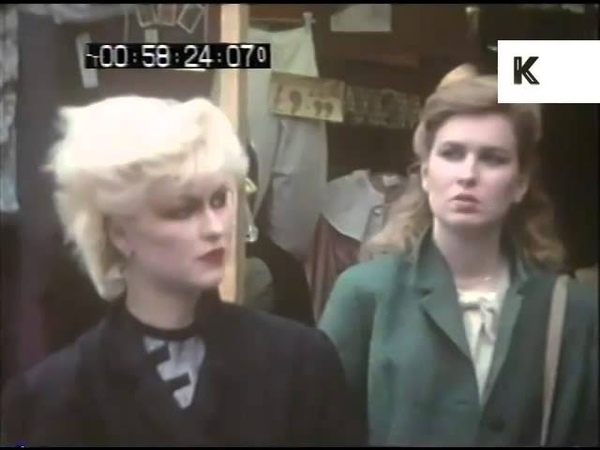 Early 1980s New Romantics Street Style, Chelsea, London - Subculture, Home Movies