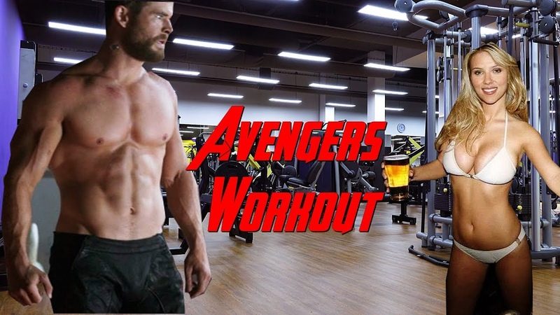 Avengers 4 EndGame - Gym Workout🔥