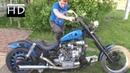 Кастом перестройка Мотоцикла за 1000 руб Днепр 11