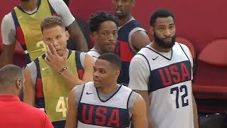 2018 USA Basketball Mini Camp - Full Scrimmage Highlights - Day 1