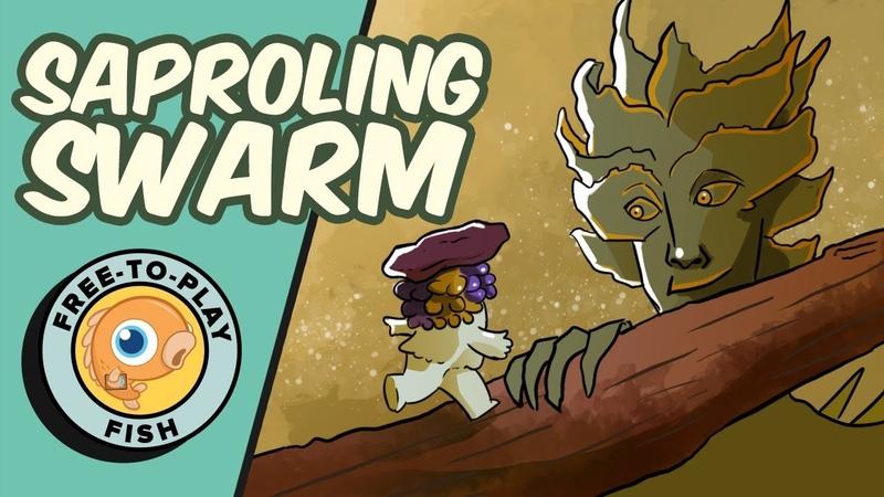 Free-To-Play Fish: Saproling Swarm (Standard, Magic Arena)