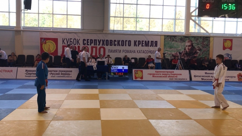Кубок Серпуховского Кремля, 22/09/2018, Серпухов