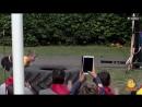 Показательное выступление на юбилей лагеря Спутник
