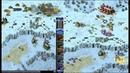 Red Alert 2 Yuri's Revenge - PRO 2 vs 2 Game on the map Heck Freezes Over