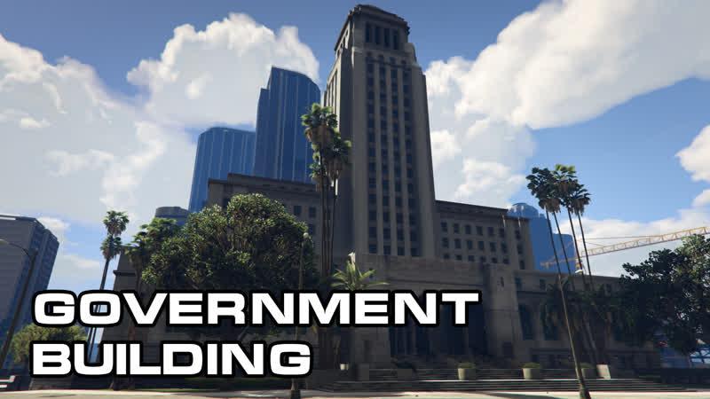 Здание правительства на Fiver Roleplay GTA V RP City Hall