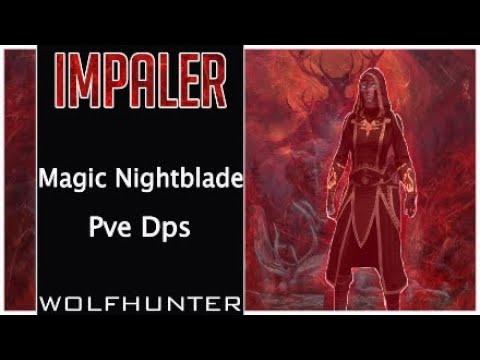 Magic Nightblade Pve Dps Build impaler Wolfhunter (54k Dps)