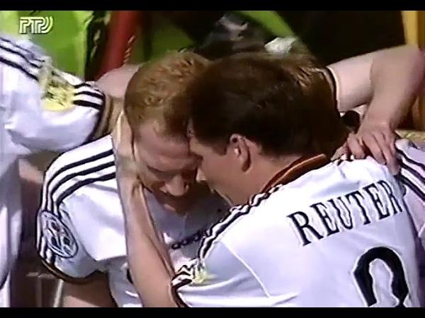 Германия 3-0 Россия / UEFA Euro 1996 / Germany vs Russia