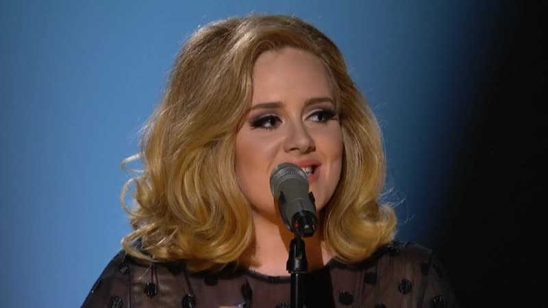 Adele Tribute to Whitney Houston on 54 th Grammy 2012