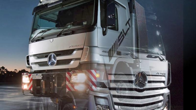 Mercedes 8x8 actros trucks