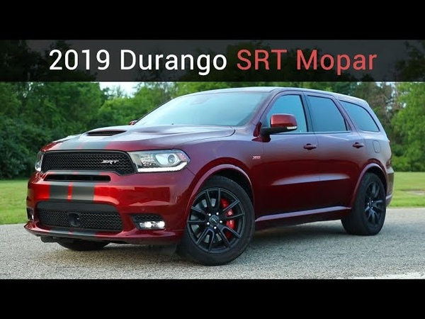 2019 Dodge Durango SRT | Улучшения от Mopar