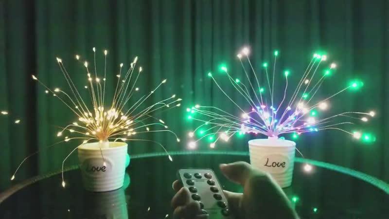 Водостойкие новогодние фонарики