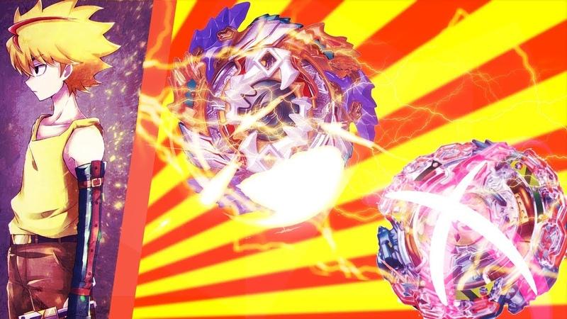 Запустила Фафнира рукой, разбил Кербеуса за секундуBeyblade BurstБейблэйд Берст