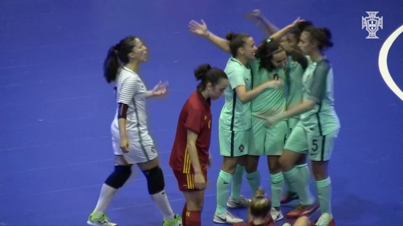 SNA Futsal Fem.: Portugal venceu Espanha (2-1) no segundo jogo de preparação