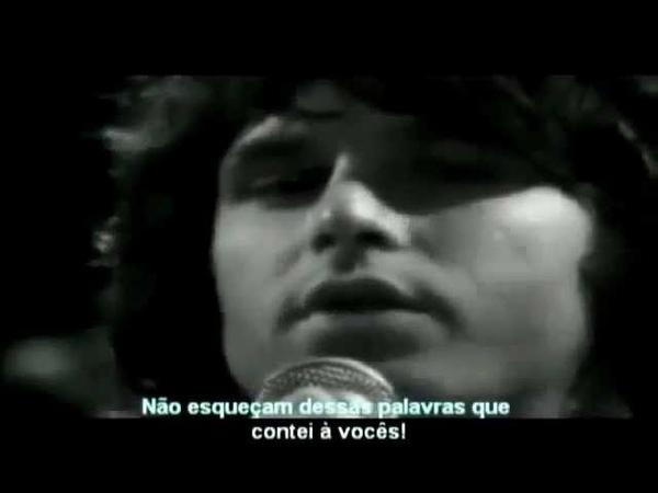 JIM MORRISON VOCALISTA DO THE DOORS FALA SOBRE OS ILLUMINATI E SUAS AÇÕES