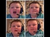 Мальчик исполняет мелодию из Mortal Combat а капелла
