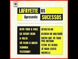 Lafayette Apresenta Os Sucessos Vol. I - Lado 1 - 1966 - Vinil