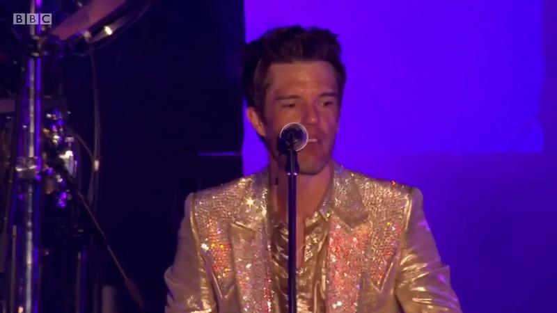 The Killers Mr. Brightside Remix Regular version at TRNSMT Festival. Glasgow 2018