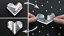 Money MAGIC HEART | Gift for Valentine's Day | Origami Dollar Tutorial DIY