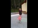 Яночка танцует на дискатеке