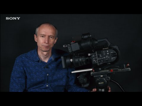 PXW-FS7 Official Tutorial Video 1 Initial Camera Setup| Sony Professional