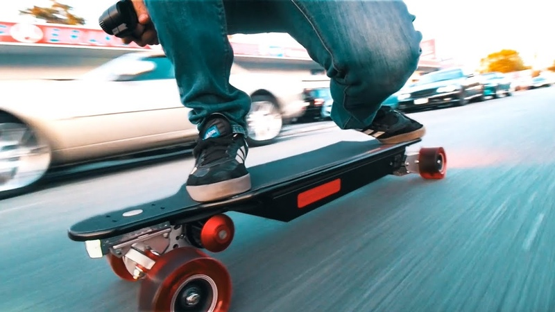 INSANE Electric Skateboard - 6000 WATT