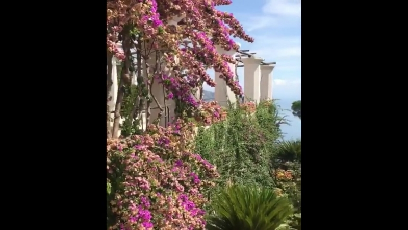Балкон виллы Руффало