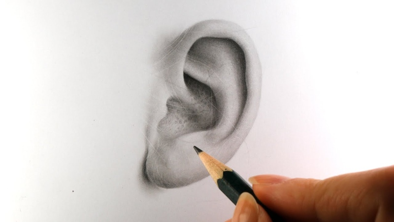 REALISM CHALLENGE - Drawing IDENTICAL COPY of an Ear!