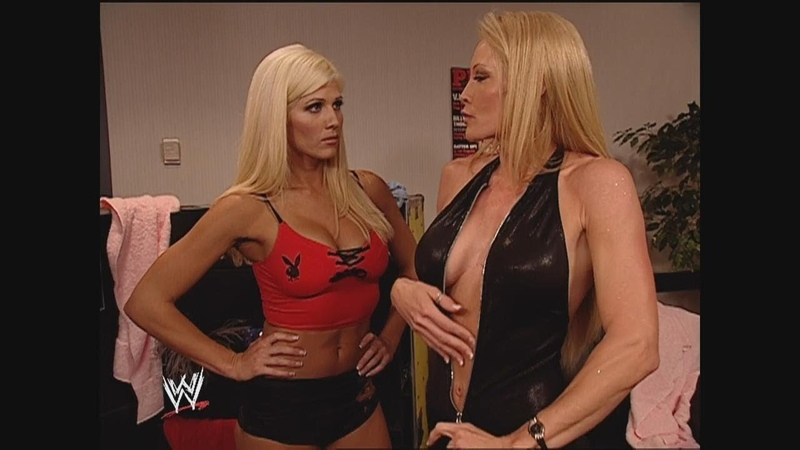 Torrie Wilson vs Nidia Sable As Special Guest Referee SmackDown April 17 2003