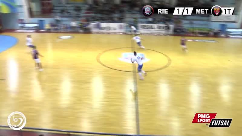 Italy League - Round 5 - Real Rieti 3x1 Meta Catania