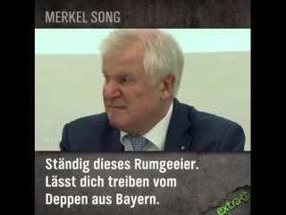Lustige Merkel