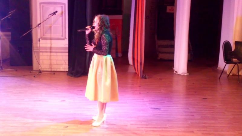 Мария Белая конкурс в г. Ковров - лауреат 1 степени Птицы белые