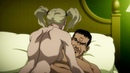 Харли Квинн и Дэдшот в постели Бэтмен Нападение на Аркхэм